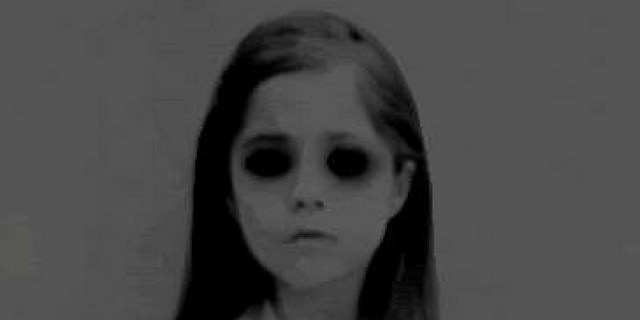 Black-eyed children