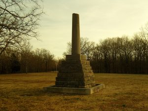 (images:thenecessityforruins/flickr) Meriwether Lewis Memorial