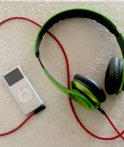 Silver IPod