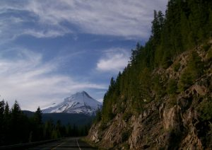 (images:tysasi/flickr) Mount Hood and Barlow Road
