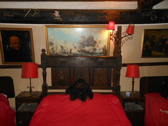 One of the rooms at the Ancient Ram Inn