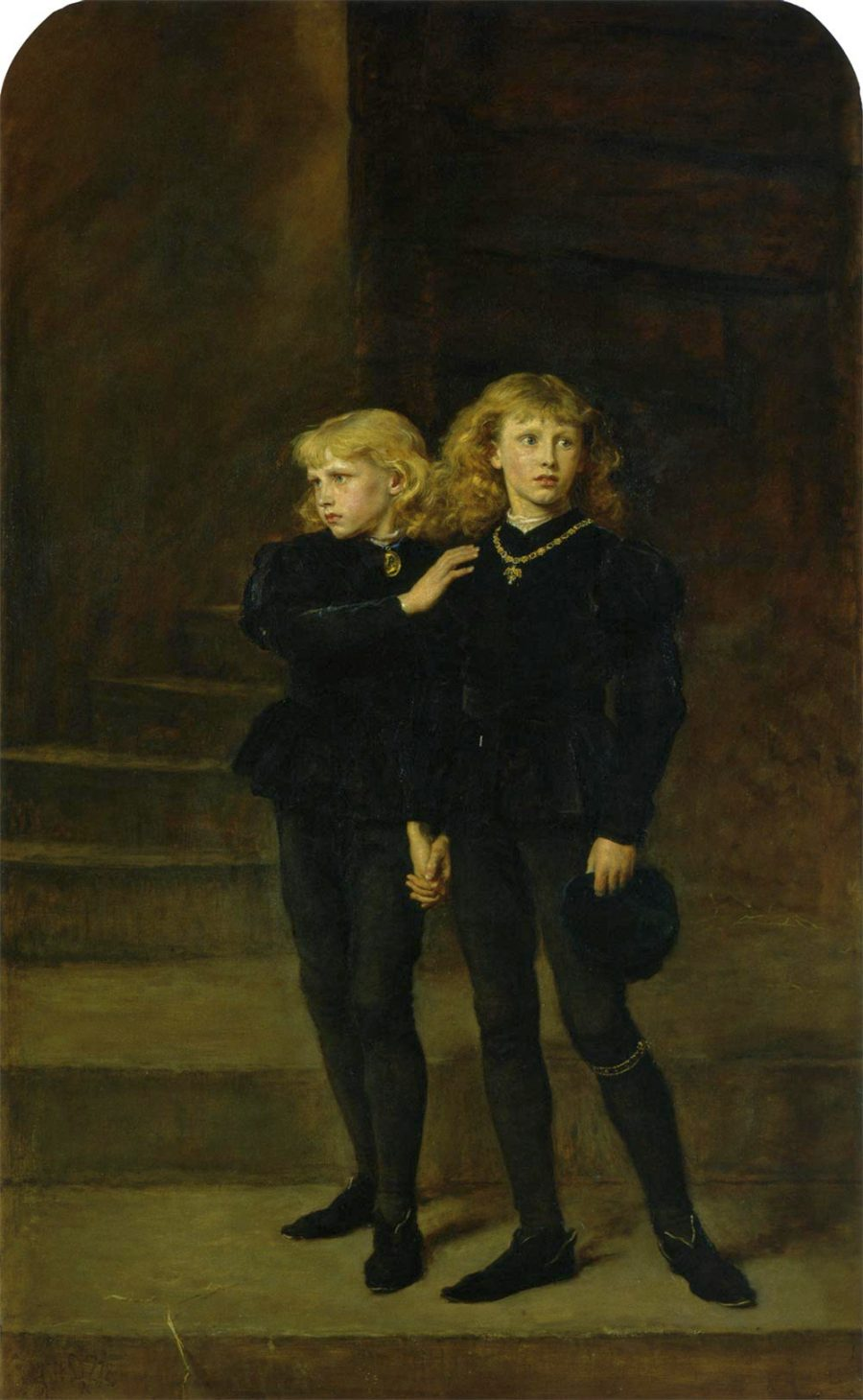 The princes at the Tower of London