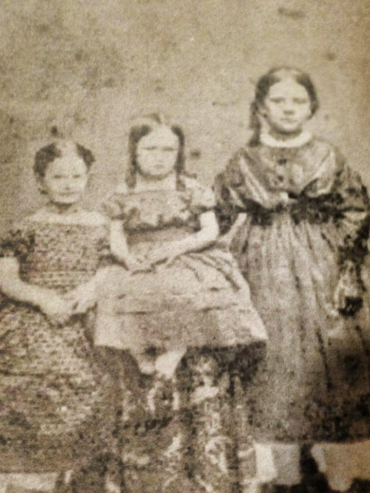 A photo showing some of the children of Hezekiah H. Pittee