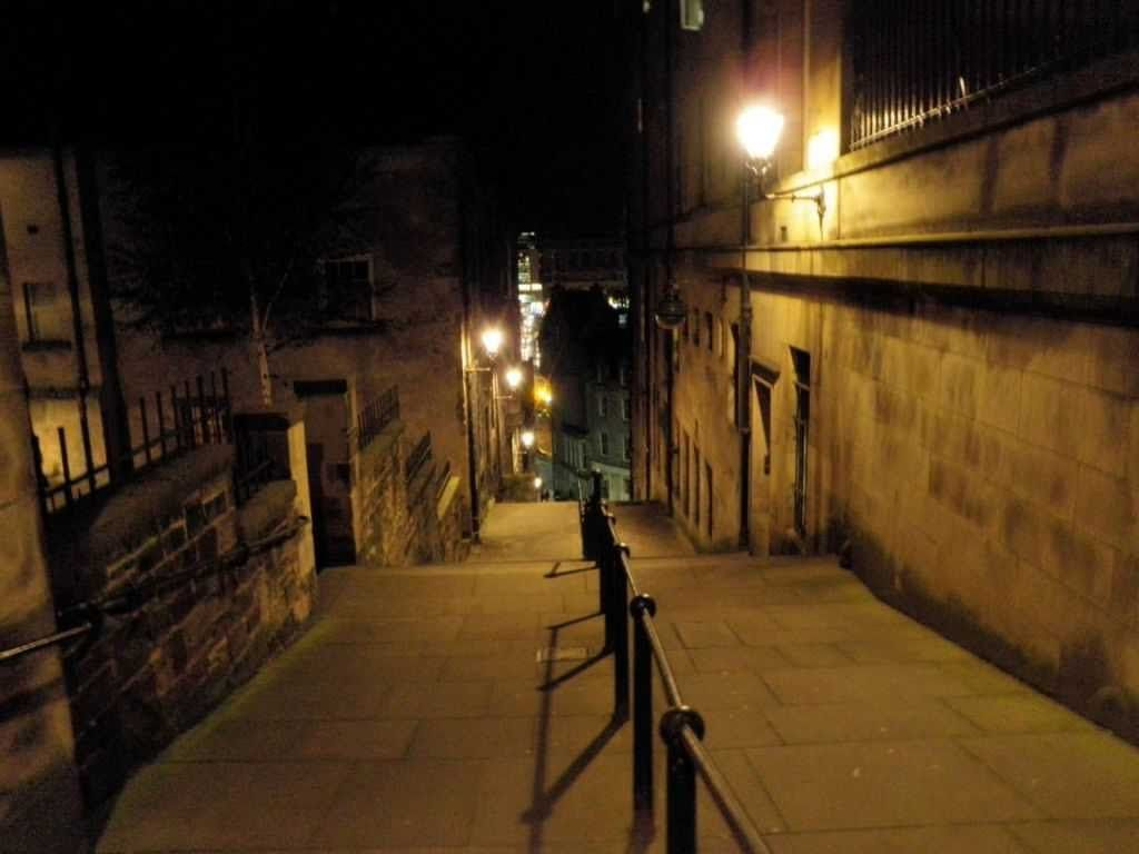 One of the streets at Mary King's Close