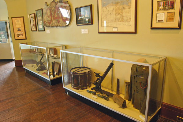 The Queen's Own Rifles of Canada museum at Casa Loma