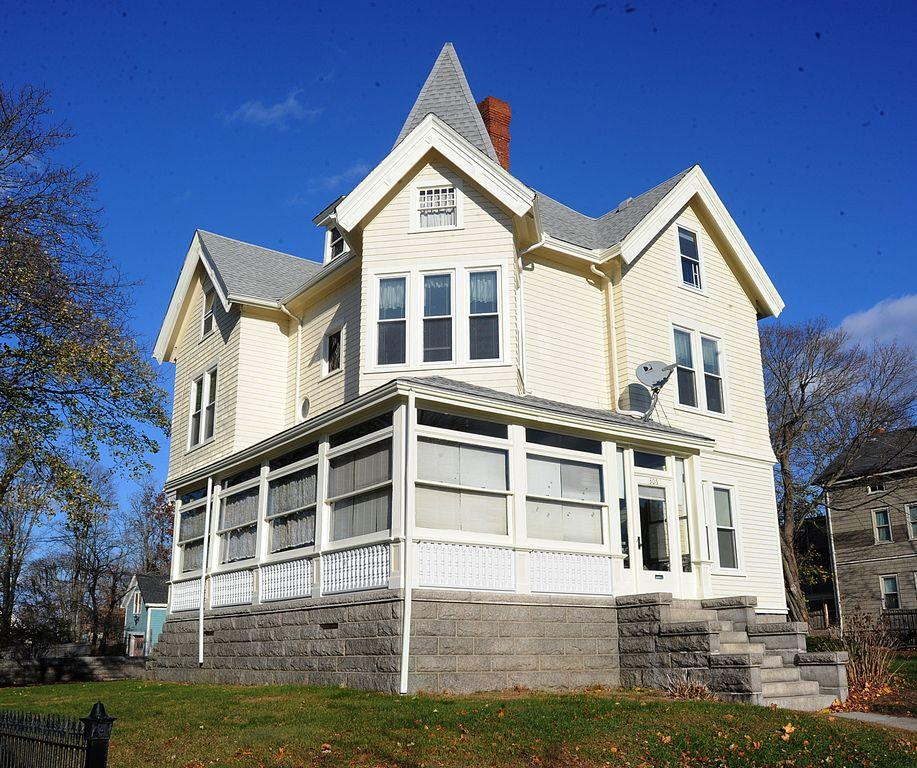 The new home of Lizzie Borden and her sister Emma after the former was acquitted