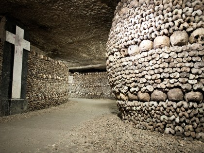 Other parts of the Catacombs of Paris