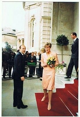 Princess Diana at the Langham Hotel