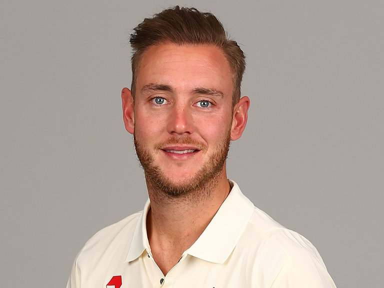 Stuart Broad in an undated photo