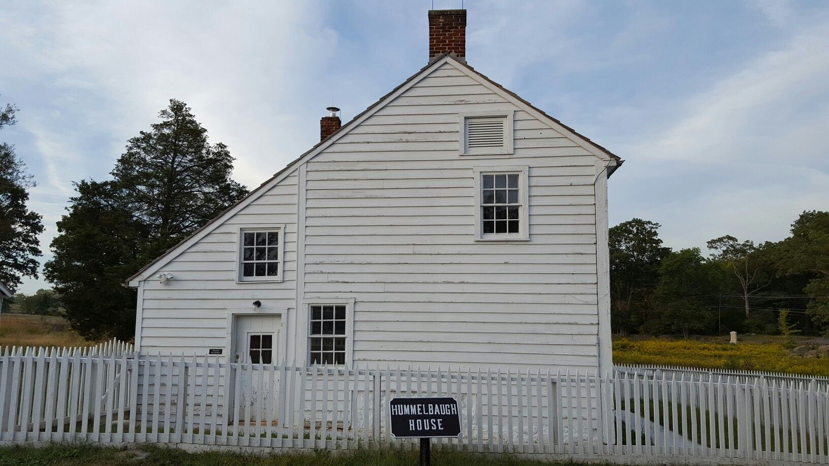 The Hummelbaugh House at the Gettysburg Battlefield