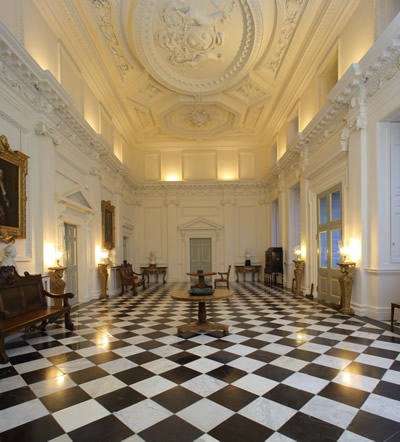 A photo showing the inside of the Raynham Hall