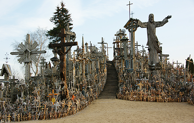Another part of the Hill Of Crosses