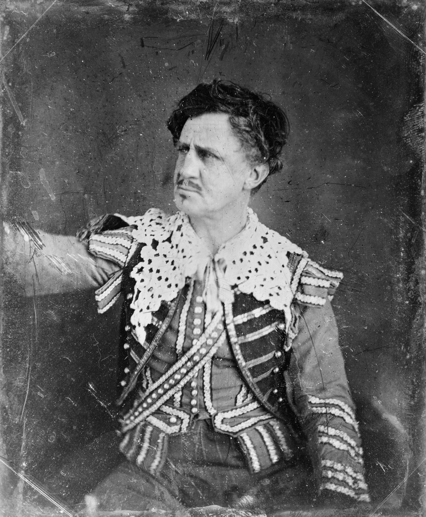 Junius Brutus Booth in an undated photo