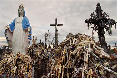 The Virgin Mary at the Hill Of Crosses