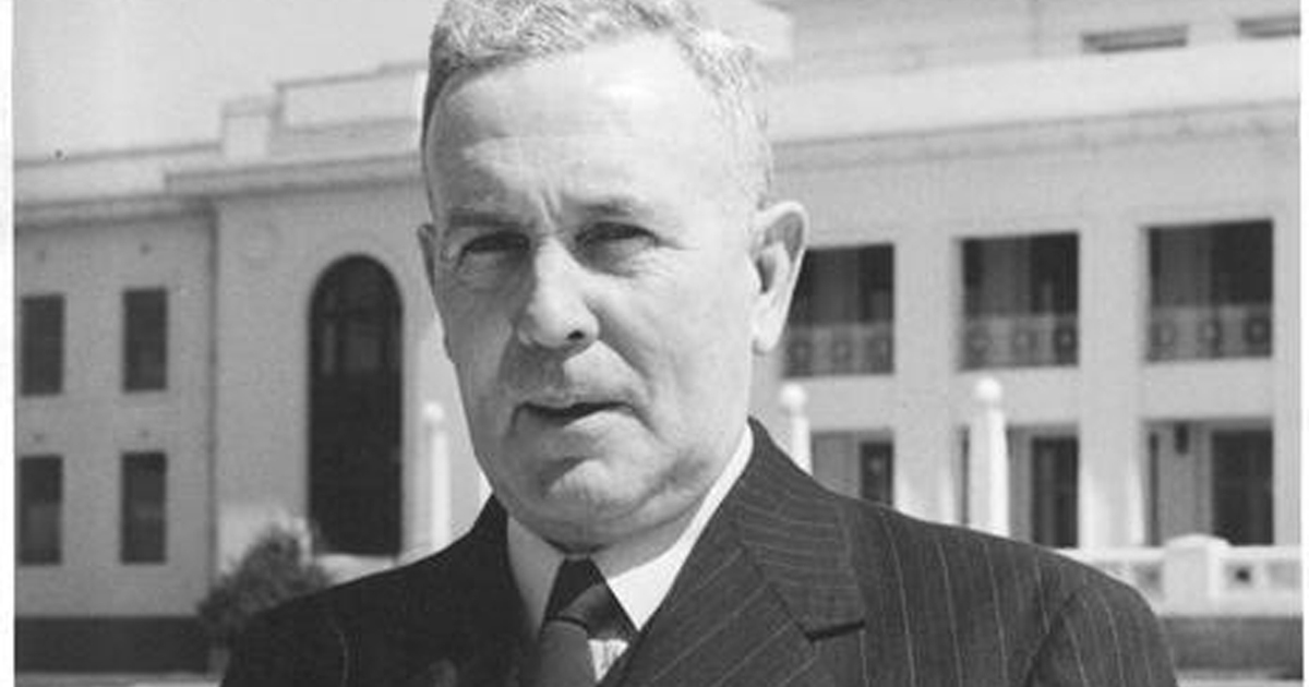 Ben Chifley in an undated photo