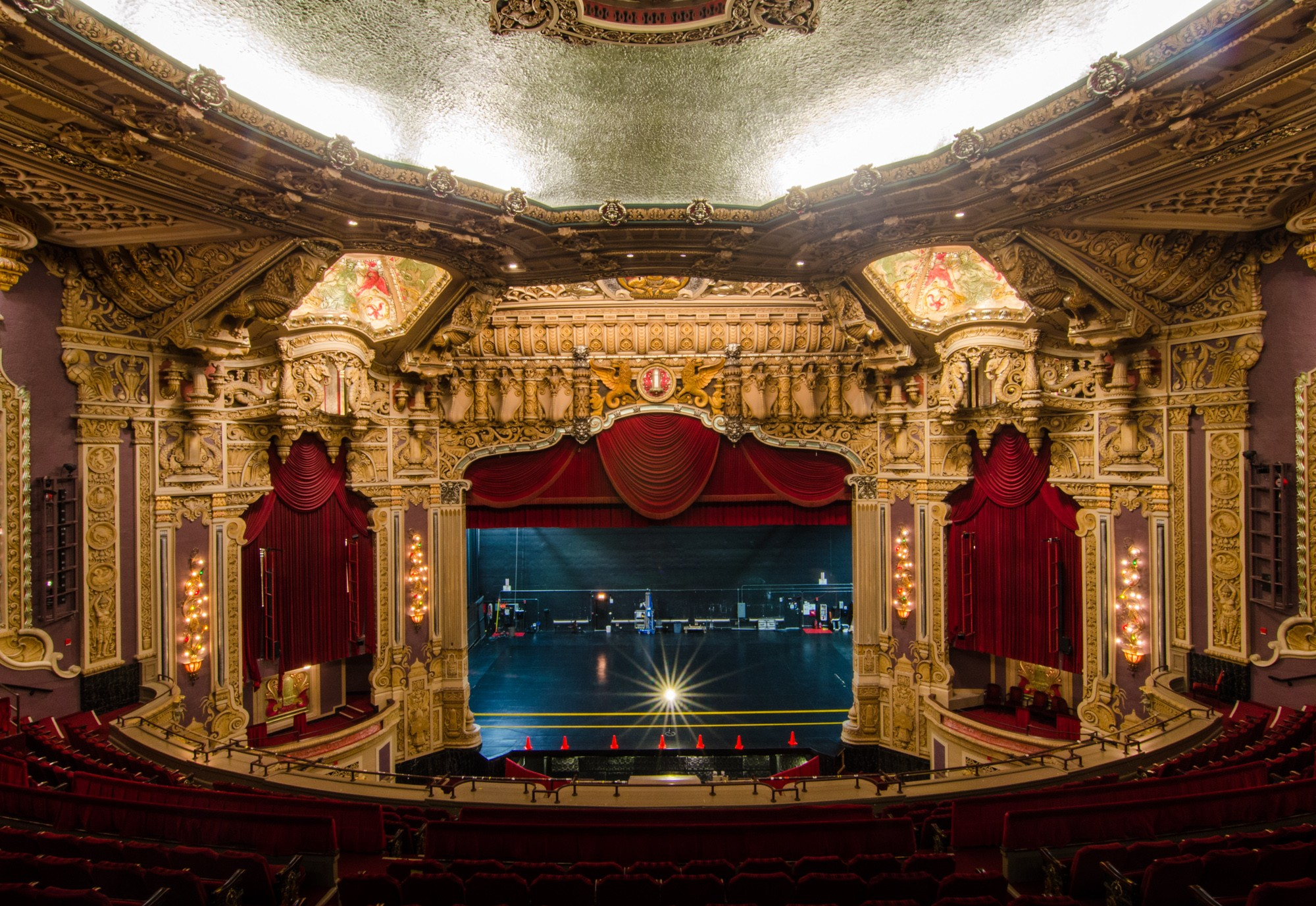Inside the Oriental Theatre