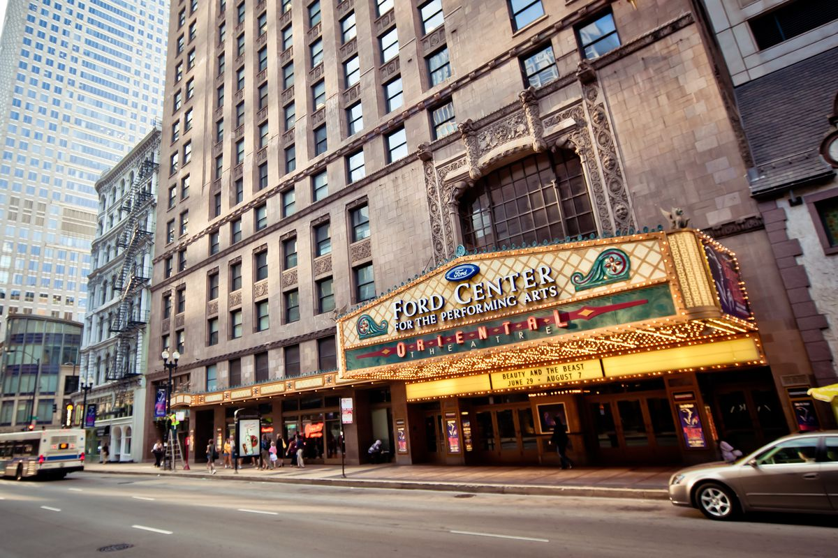 Oriental Theatre from the outside