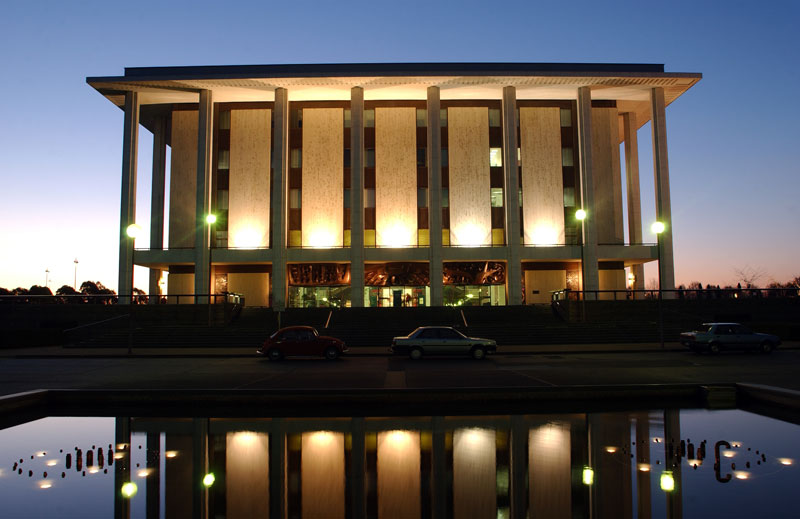 The National Library in Canberra