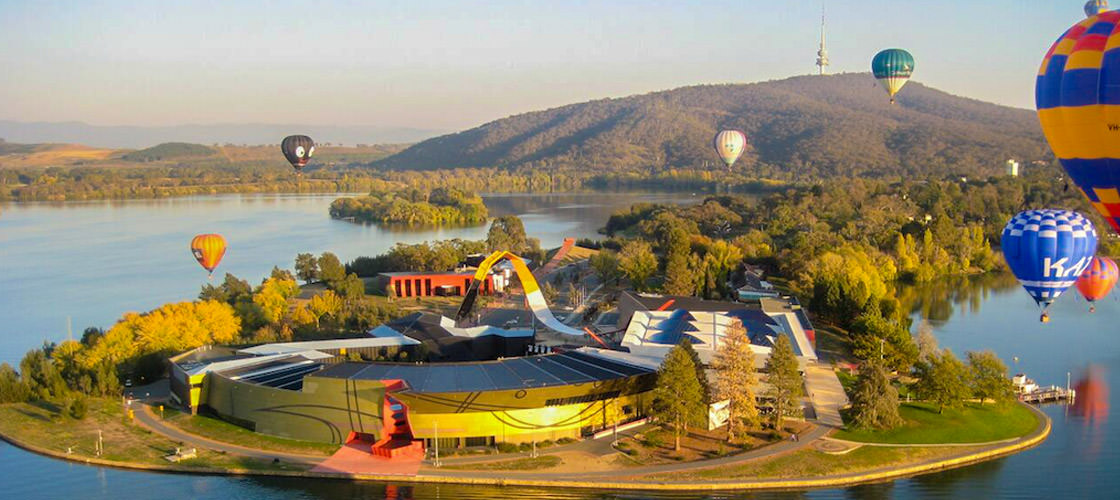 The National Museum in Canberra