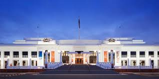 The Old Parliament House in Canberra