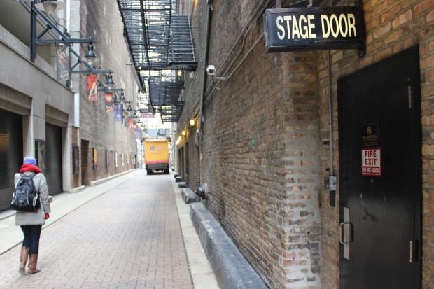 The infamous Death Alley outside the Oriental Theatre