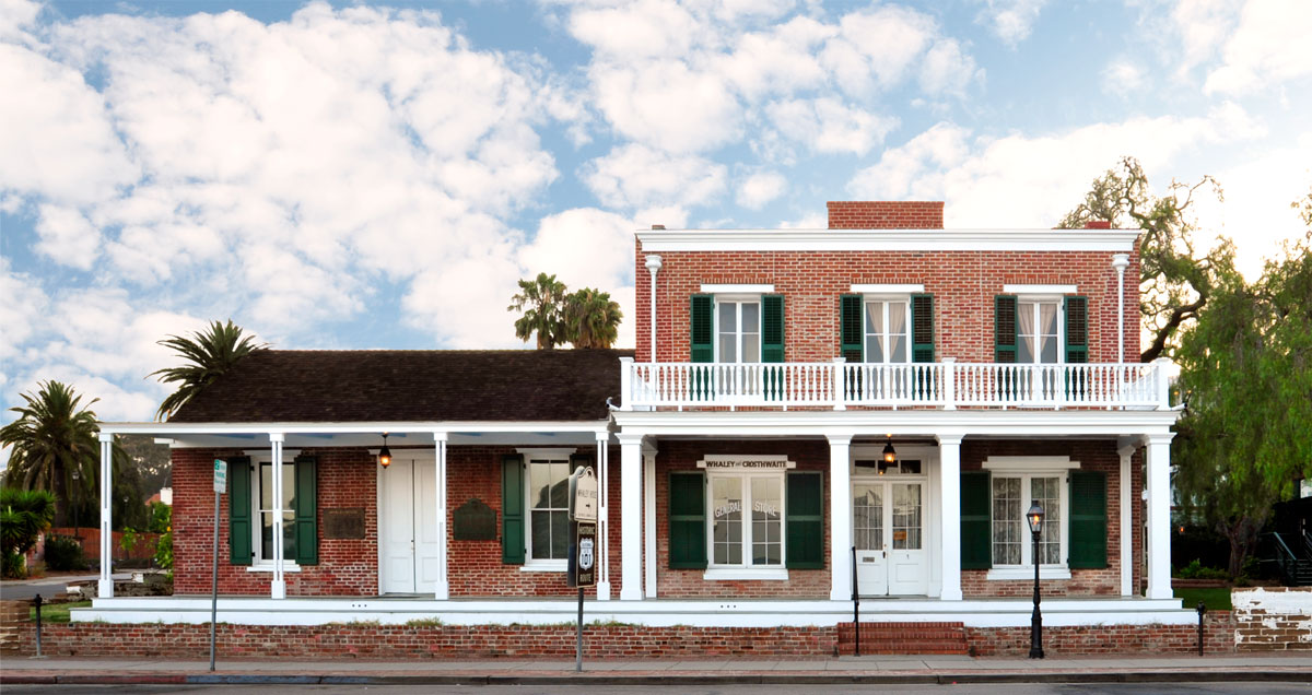 The Whaley House in San Diego, California