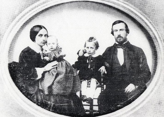 Thomas and Anna Whaley with two of their children