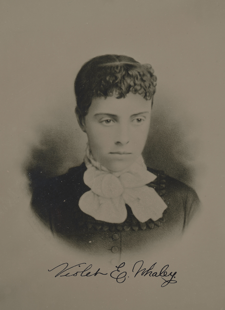 Violet Whaley in an undated photo