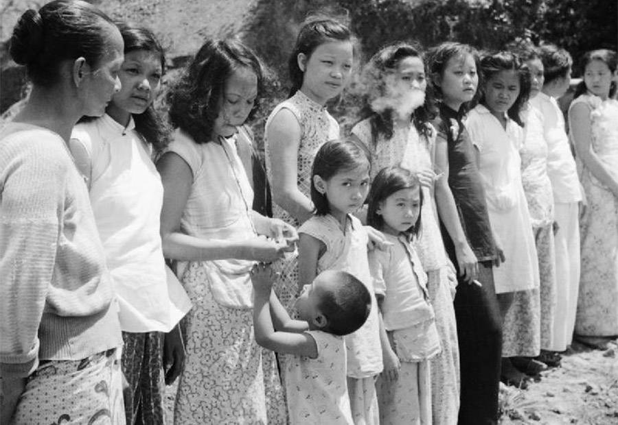 Comfort Women in an undated photo