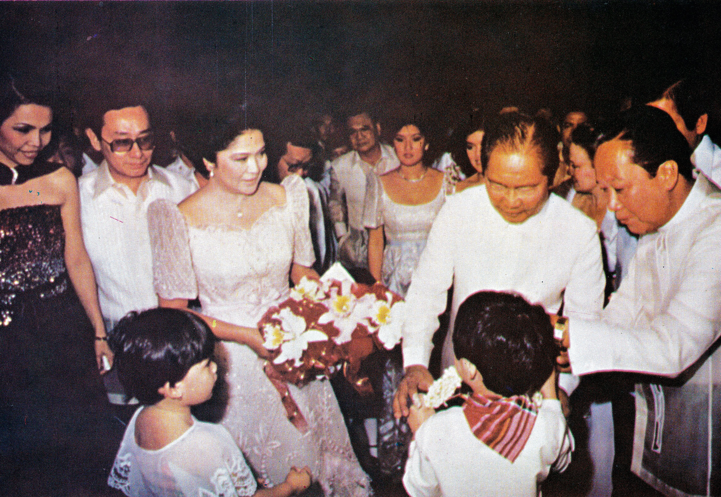 Imelda Marcos photographed during the MIFF inauguration