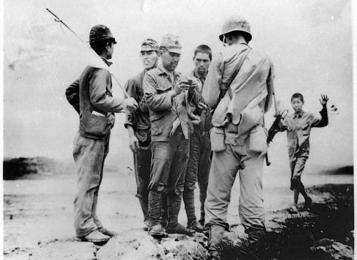 Japanese soldiers in the Philippines during World War II