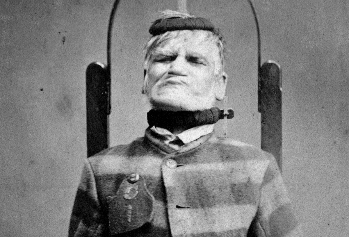 One of the patients at the Trans-Allegheny Lunatic Asylum