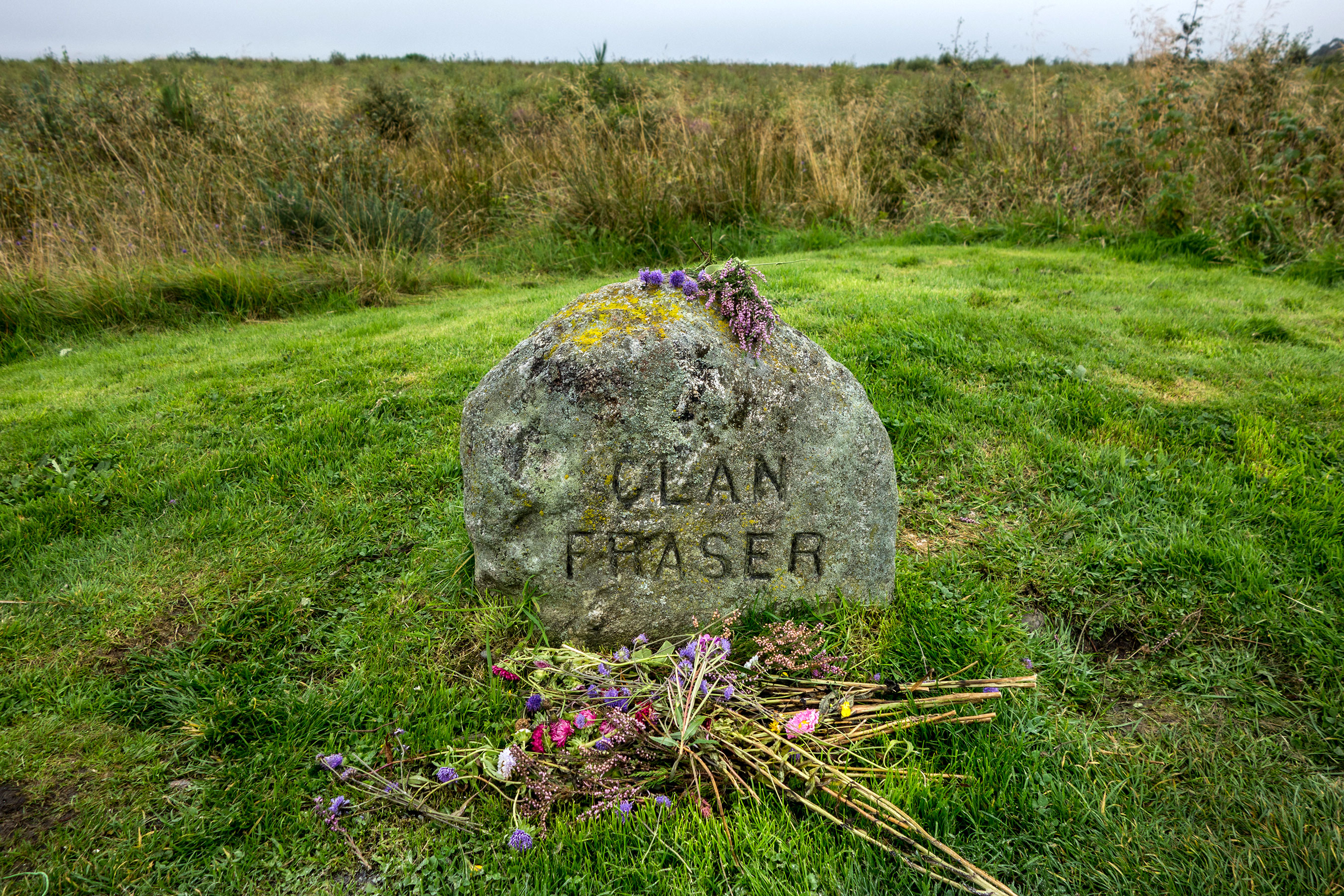 The site where Clan Fraser is buried