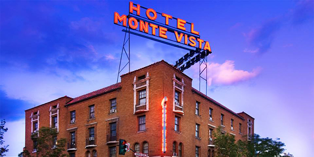 Hotel Monte Vista as seen from the outside
