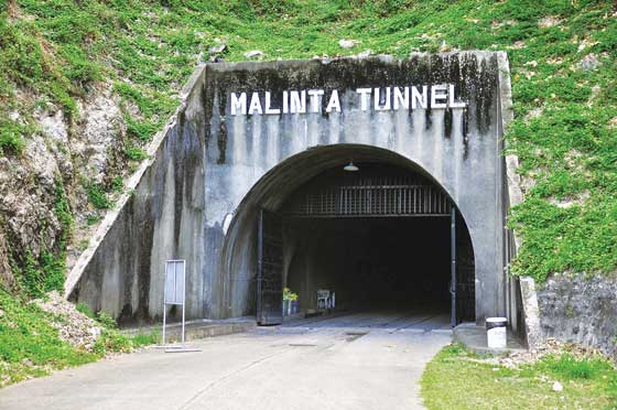 The entrance of Malinta Tunnel today