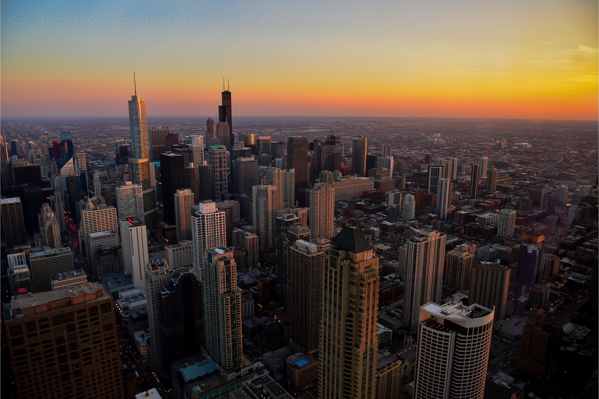A photo showing Chicago's skyline