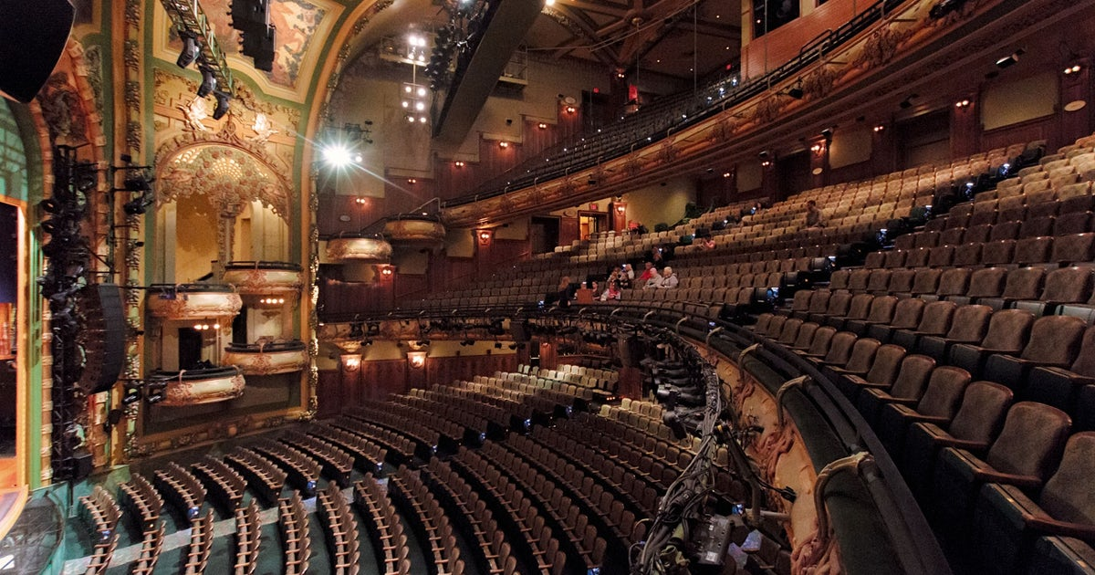 Inside the New Amsterdam Theatre