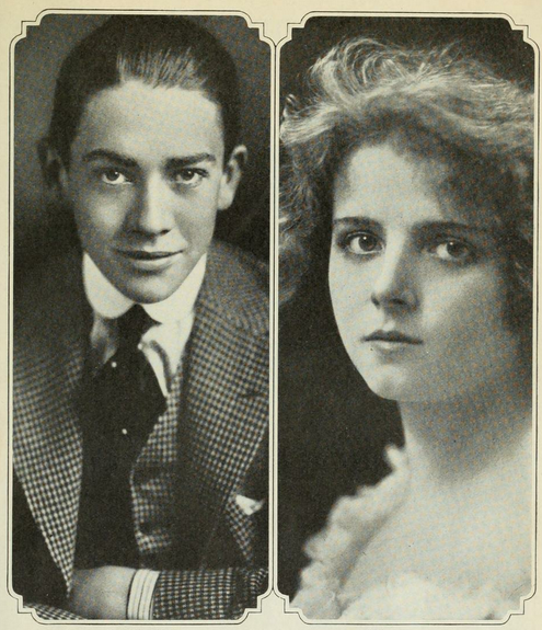 Jack Pickford and Olive Thomas in an undated photo