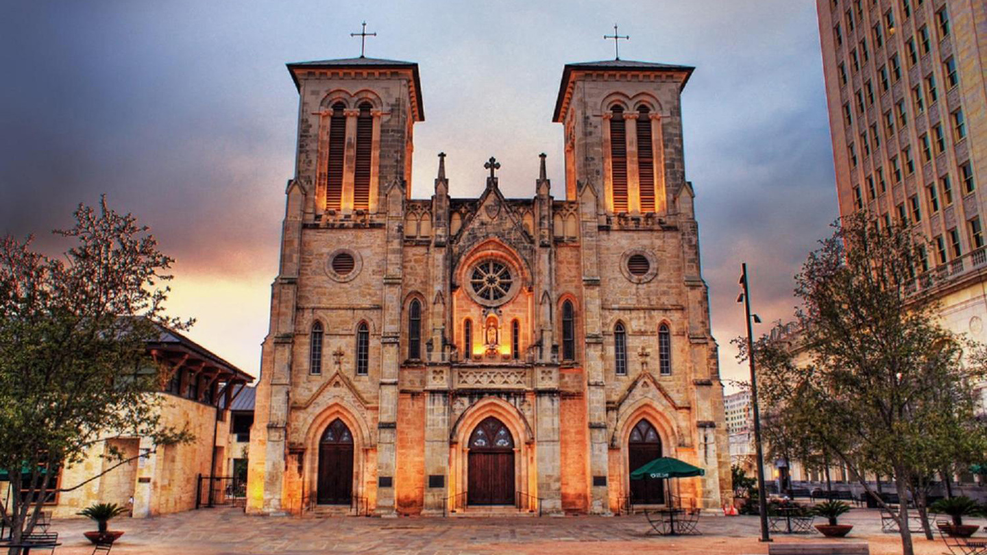 San Fernando Cathedral as seen from the outside