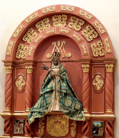 The Virgin of Candelaria in San Fernando Cathedral