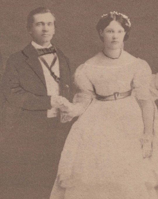 Henry and Georgina Pittock in an undated photo