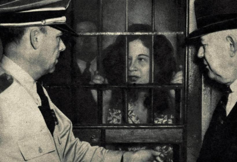 Toni Jo Henry inside a prison