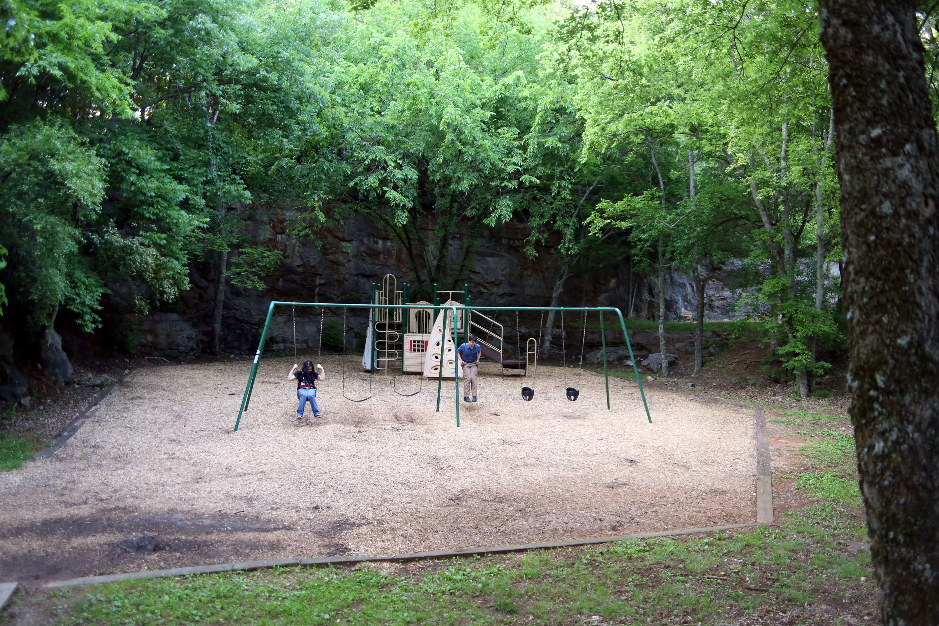 A photo of the Dead Children's playground