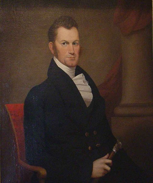 Governor Thomas Bibb as seen in a portrait