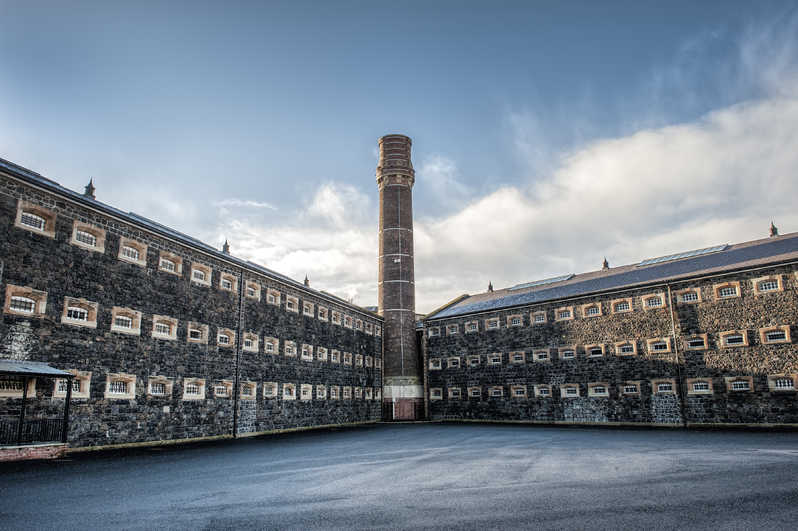 Crumlin Road Gaol as seen from the outside