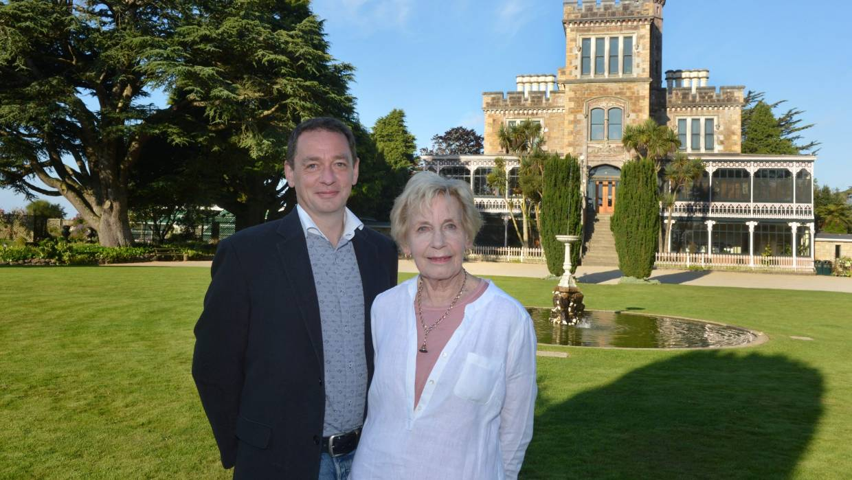 Margaret and Norcombe Barker are the owners of the Larnach Castle
