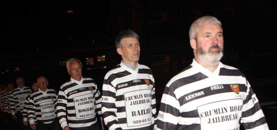 Some inmates during the latter years at the Crumlin Road Gaol has been in operation