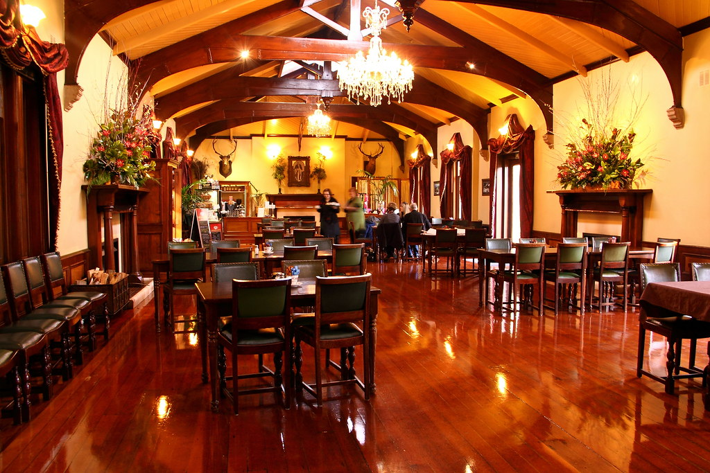 The ballroom at Larnach Castle