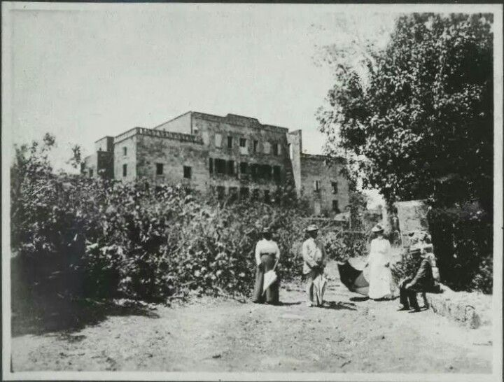 An undated photo of the Eden Brown Estate in the past