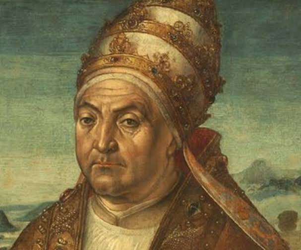 Pope Sixtus IV in an undated portrait